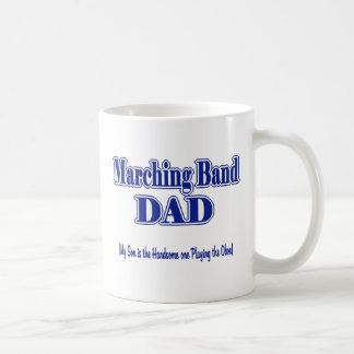 Papá Oboe de la banda Taza Básica Blanca