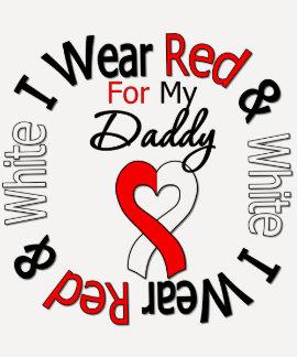Papá oral de la ayuda de la cinta del cáncer camisetas