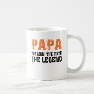 Papa (Orange) Coffee Mug