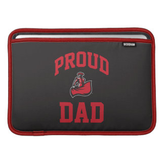 Papá orgulloso con Matador en negro Fundas MacBook