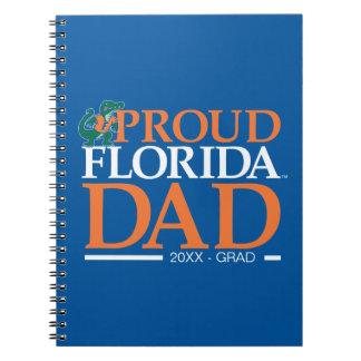 Papá orgulloso de la Florida Libreta Espiral
