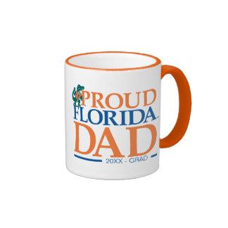 Papá orgulloso de la Florida Taza A Dos Colores