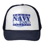 Papá orgulloso de la marina de guerra gorros