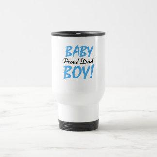 Papá orgulloso de las camisetas y de los regalos d tazas de café