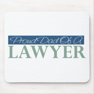 Papá orgulloso de un abogado tapete de raton