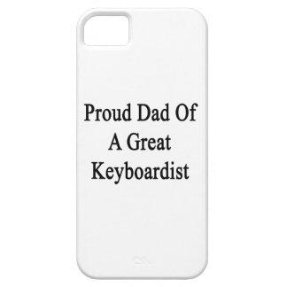 Papá orgulloso de un gran Keyboardist