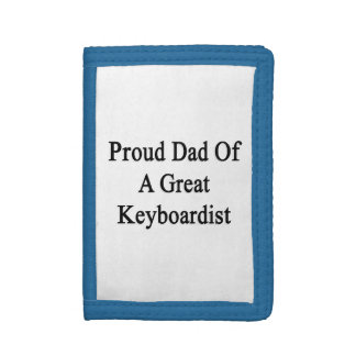 Papá orgulloso de un gran Keyboardist.