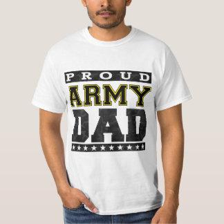 Papá orgulloso del ejército camisas