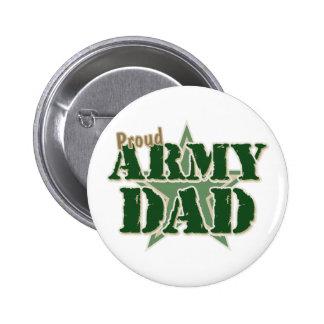 Papá orgulloso del ejército pins
