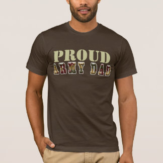 Papá orgulloso del ejército playera
