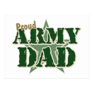 Papá orgulloso del ejército postales