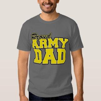 Papá orgulloso del ejército remeras