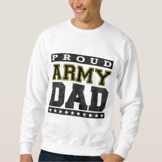 Papá orgulloso del ejército sudadera con capucha
