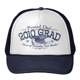 Papá orgulloso del graduado 2010 gorro