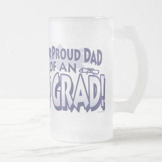 Papá orgulloso estupendo 'de un graduado 09 taza