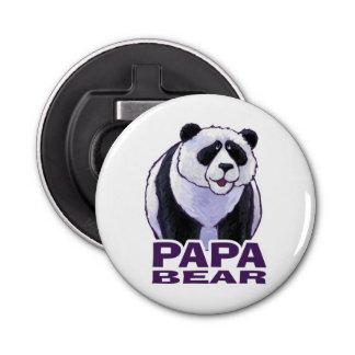 Papa Panda Bear Bottle Opener