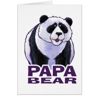 Papa Panda Bear Card