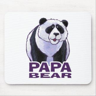 Papa Panda Bear Mouse Pad