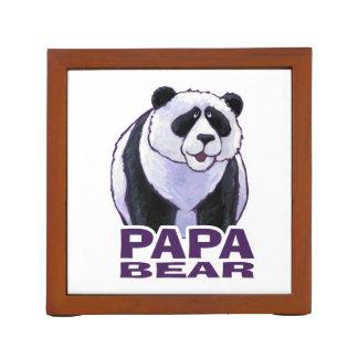 Papa Panda Bear Pencil Holder