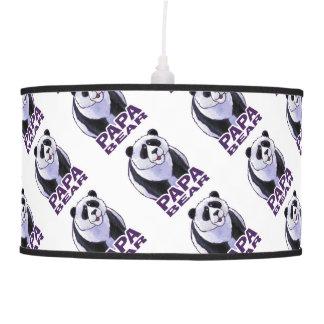 Papa Panda Bear Pendant Lamp