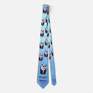 Papa Panda Bear Tie
