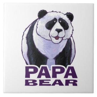 Papa Panda Bear Tile