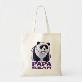 Papa Panda Bear Tote Bag
