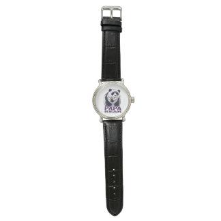 Papa Panda Bear Wristwatch