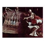 Papa Paul Iii. inspirado por la fe en el ecuménico Postal