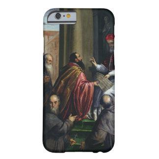 Papa Paulo IV que entrega un estatuto Funda Para iPhone 6 Barely There