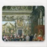 Papa Paulo V con una audiencia, 1620 Mousepads