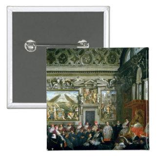 Papa Paulo V con una audiencia, 1620 Pin