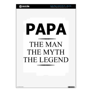 papá pegatina skin para iPad 3