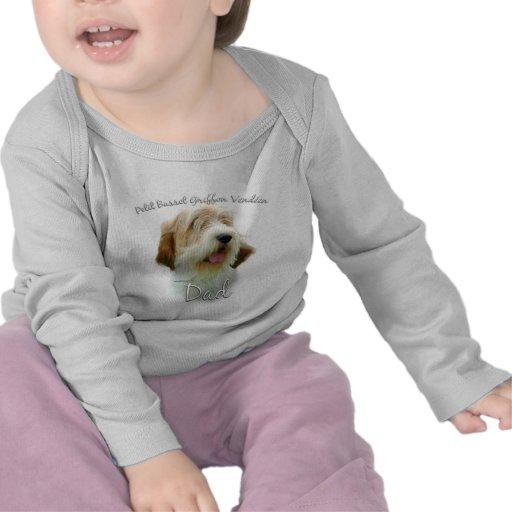 Papá pequeno 2 de Griffon Vend�en del afloramiento Camiseta