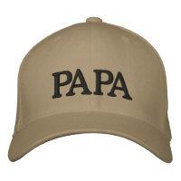 Papa Pet Embroidered Baseball Hat