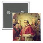 Papa Pío IX 1847 Pins