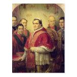 Papa Pío IX 1847 Tarjetas Postales
