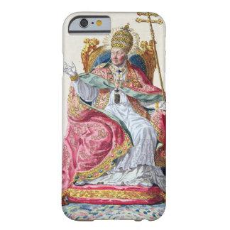 Papa Pío VI (1717-99) de 'DES Estampes de Receuil, Funda De iPhone 6 Barely There