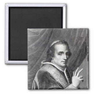 Papa Pío VII, grabado por Rafaello Morghen Imán Cuadrado