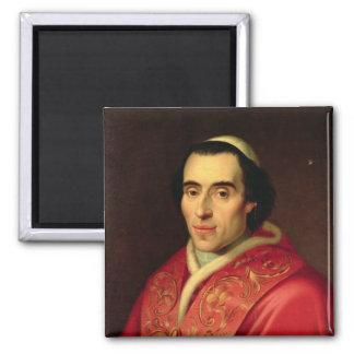 Papa Pío VII Imán Cuadrado