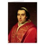 Papa Pío VII Tarjetón