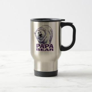 Papa Polar Bear Travel Mug