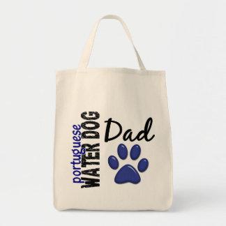 Papá portugués 2 del perro de agua bolsa tela para la compra