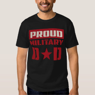 Papa proud of military dad Hot T-shirt