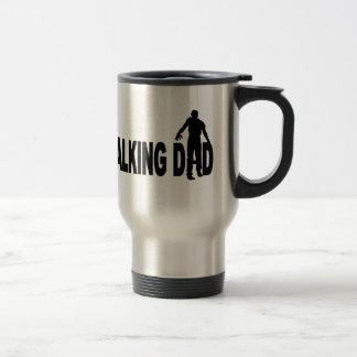 Papá que camina (zombi) taza térmica