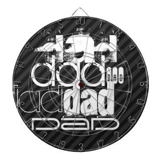 Papá; Rayas negras y gris oscuro