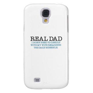 Papá real (pañal azul) funda para galaxy s4