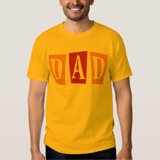Papá retro camisas
