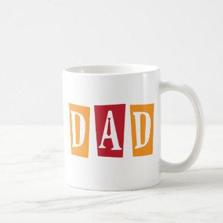Papá retro taza clásica
