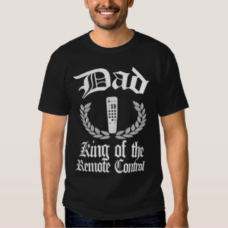 Papá - rey de la camiseta teledirigida camisas